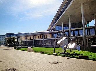 Otto von Guericke University Magdeburg - University library, Magdeburg.