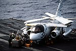 US-3A of VRC-50 on USS Abraham Lincoln (CVN-72) 1993.JPEG