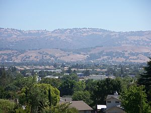 View from Claremont Drive. Morgan Hill, Califo...