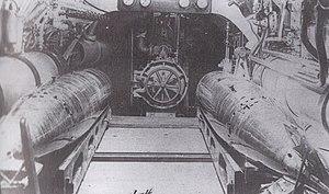 USS A-4 torpedo tube