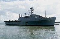 USS Austin (LPD-4) underway in 1982.JPEG