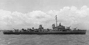 USS Charles R. Ware (DD-865) off Staten Island in 1945.jpg