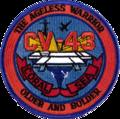 USS Coral Sea (CV-43) insignia 1987.png