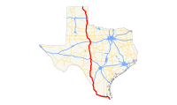 US 83 (TX) map.svg
