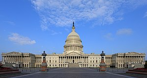 United States Capitol - The east front of the United States Capitol (2013 view)