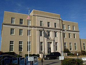 United States Courthouse and Post Office (Huntsville, Alabama) - The building in 2009