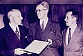 US Department of the Interior Award to Holyoke Water Power Company for its Shad Fish Lift (1956).jpg