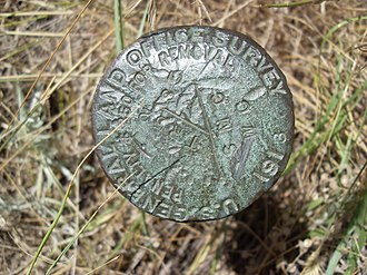 General Land Office - Image: US GENERAL LAND OFFICE Geodetic control point Douglas WY