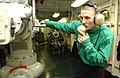 US Navy 020228-N-2722F-030 USS Stennis - Sailor monitors pressure gauge.jpg