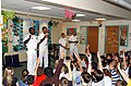 US Navy 070508-N-0318S-001 Sailors stationed aboard Pre-commissioning Unit (PCU) Mesa Verde (LPD 19), talk to children at Eagleview Elementary School about the historical importance of the Mesa Verde National Park located in th.jpg