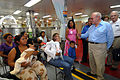US Navy 070723-N-8704K-039 Nicaraguan Vice President Jaime Morales and Project Hope President Dr. John Howe visit with patients aboard Military Sealift Command hospital ship USNS Comfort (T-AH 20) off the coast of Corinto, Nica.jpg