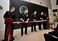 US Navy 090114-N-8273J-017 Coast Guard Commandant Adm. Thad W. Allen and Chief of Naval Operations (CNO) Adm. Gary Roughead participate in the ribbon cutting ceremony at the Naval Maritime Intelligence Center.jpg