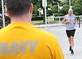 US Navy 090903-N-2903M-225 Runners from the local YMCA participate in a one and a half mile Navy run in support of the Navy Fitness Challenge at the World's Fair Park in downtown Knoxville.jpg