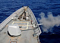 US Navy 101026-N-6632S-263 The guided-missile cruiser USS Gettysburg (CG 64) fires its forward 5-inch Mark 45-54-caliber lightweight gun during a p.jpg