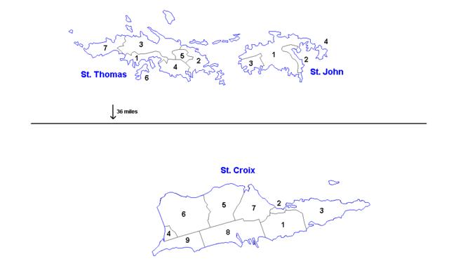 Saint Croix Virgin Island Zip Code