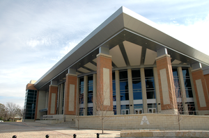 College Park Center - Image: UTA College Park Center NW