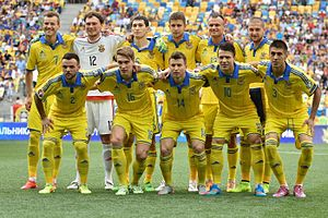 Ukraine national football team - Ukraine national football team in 2015
