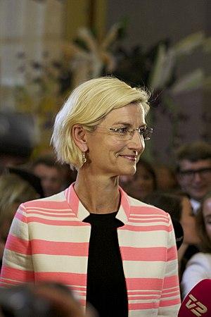 Ulla Tørnæs - Image: Ulla Tørnæs, 2014 05 25