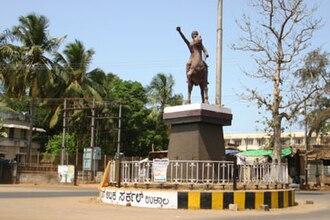 Abbakka Chowta - Life Size statue of the Chowta Queen Abbakka in Ullal