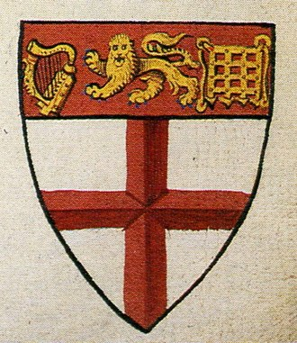 Norroy and Ulster King of Arms - The coat of arms of Ulster King of Arms, also taken from Lant's Roll