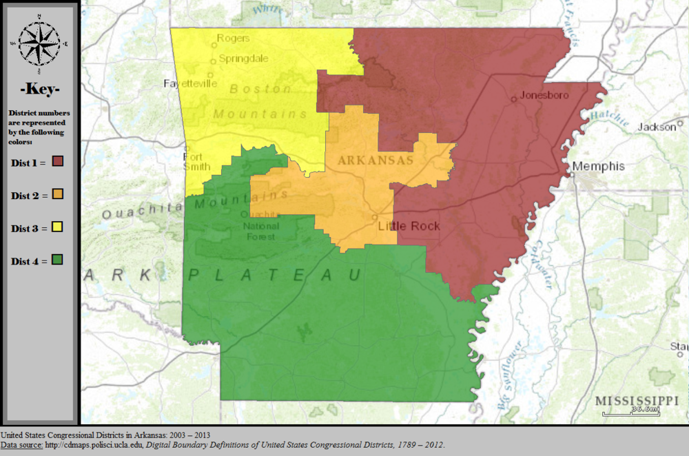 Arkansass Congressional Districts Wikiwand - Us congressional district map