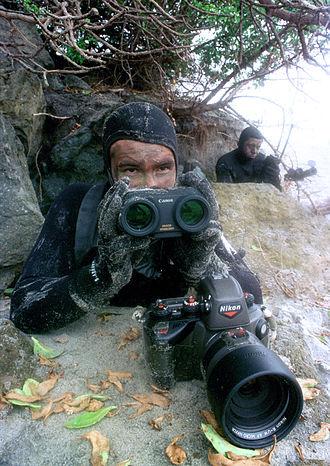 Nikonos - United States Navy SEALs with a Nikon/Kodak DCS 425 underwater digital camera