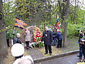 Unveiling of the monument to the nurses. Memorial park 11.JPG