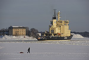 Arctia (company) - Image: Urho heading back to sea