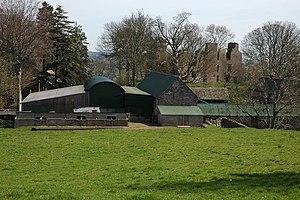 Urishay Castle - Urishay Castle Farm and Urishay Castle