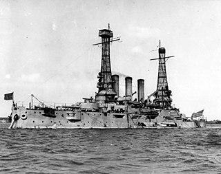 USS <i>Ohio</i> (BB-12) Pre-dreadnought battleship of the United States Navy
