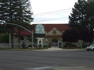 Utah State Fair - Main entrance