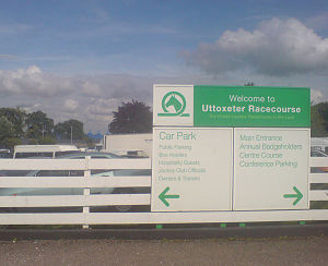 Uttoxeter Racecourse - Sign into Uttoxeter Racecourse