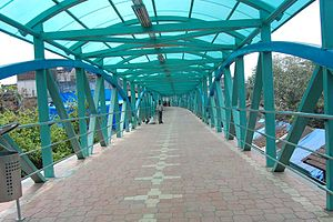 Mumbai Skywalk Project - Vasai Skywalk Inside View