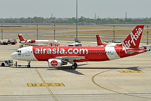 AirAsia India - AirAsia India operates a fleet of Airbus A320 aircraft