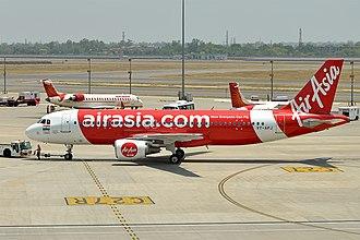 AirAsia India - AirAsia India operates a fleet of Airbus A320 aircraft
