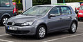 VW Golf Trendline (VI) – Frontansicht, 21. Juli 2012, Velbert.jpg