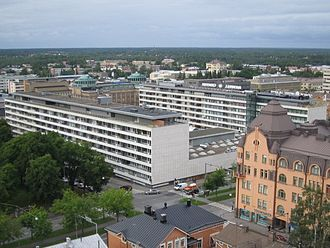 Vaasa - Image: Vaasa Rewell Center