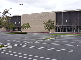 Montgomery Ward - Former Montgomery Ward store, Huntington Center, Huntington Beach, CA, demolished in 2010