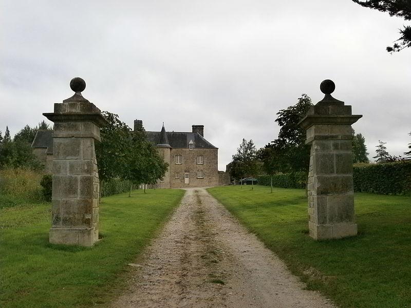 Valognes, Manoir du Haut-Gallion: entrée