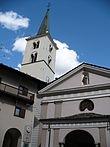 La chiesa parrocchiale di Sant'Antonio a Pâquier