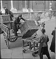 Van Girl- Horse and Cart Deliveries For the London, Midland and Scottish Railway, London, England, 1943 D16840.jpg