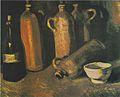 Van Gogh - Stillleben mit vier Krügen, Flasche und weißen Napf.jpeg