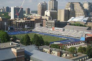 Varsity Stadium - Image: Varsity Centre