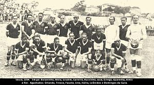 CR Vasco da Gama - Team photo from the 1934 season