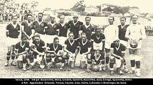 CR Vasco da Gama - Team photo from the 1934 season