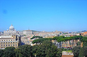 Vatican and Rome view from Castel Sant'Angelo.jpg