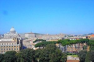 uitzicht op Rome