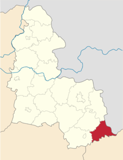 Velyka Pysarivka Raion Former subdivision of Sumy Oblast, Ukraine