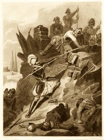 Vergeefs beleg zutphen 1586