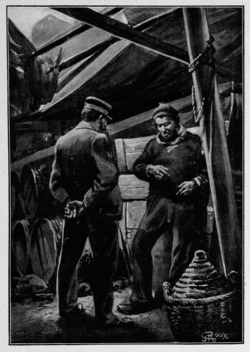 Verne - Les Naufragés du Jonathan, Hetzel, 1909, Ill. page 112